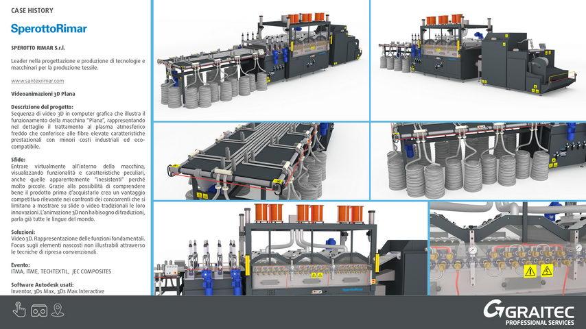 Sperotto Rimar s.r.l. - Animazioni Virtuali 3D Plana
