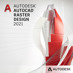 autocad raster design 2021 badge 256px