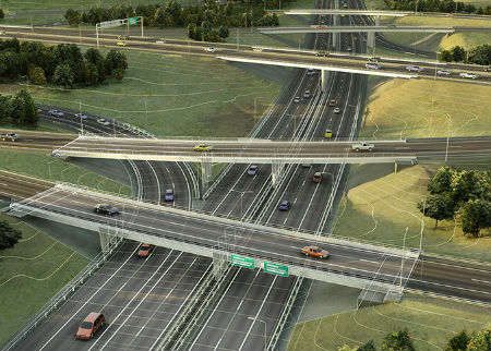 GIS and BIM integration Roads Highways 3