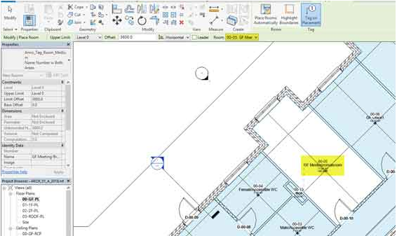 Tutorial camere e spazi di Revit eliminate per errore