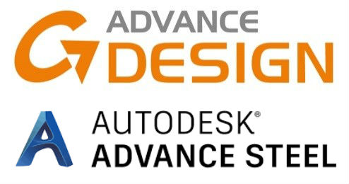 logo advance design e advance steel