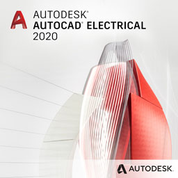 autodesk autocad electrical 2020 badge 256px opt