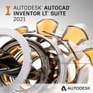 autocad inventor lt suite 2021 badge 136px